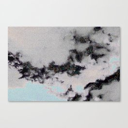 JPEG CLOUD ARTIFACTS - INVERSE Canvas Print