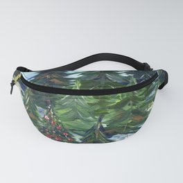 Field of Christmas Trees Fanny Pack