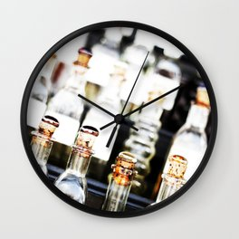 Moar Bottles  Wall Clock
