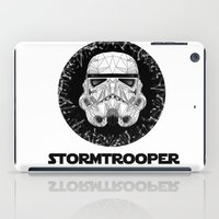 stormtrooper iPad Cases featuring stormtrooper by Tarik Ali Sert