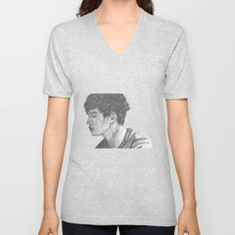 The phantom of him Unisex V-Neck