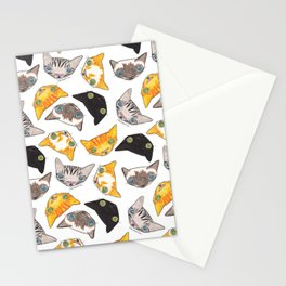 """Oro?"" Cats Stationery Cards"