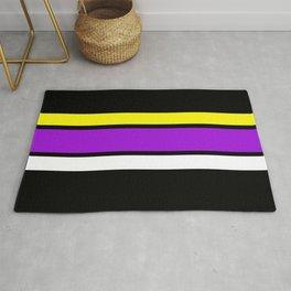 Team Colors 2....Purple ,yellow Rug