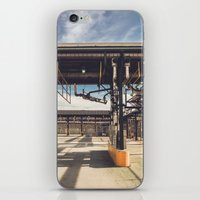 pocket fuel iPhone & iPod Skins featuring Fuel Station by Dave Rasura