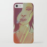 smoking iPhone & iPod Cases featuring Smoking by IOSQ