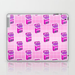 Loveboro cigarette packs pattern / girly stickers / pink grid Laptop & iPad Skin