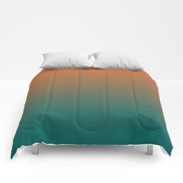 Quetzal Green Meerkat Gradient Pattern Comforters