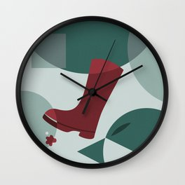 The Boot Wall Clock