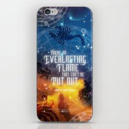 Zodiac - Everlasting Flame iPhone Skin