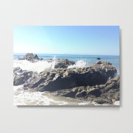 clear skies in carpinteria Metal Print