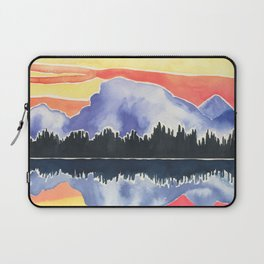 Be Still Gorgeous Mountains Reflecting Laptop Sleeve