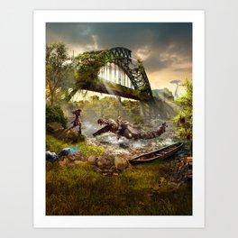 Newcastle [Horizon Zero Dawn] Art Print