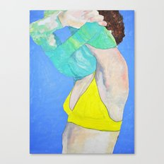 Pullover Canvas Print