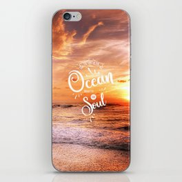 The Voice of the Ocean iPhone Skin