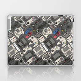 Video Game Controllers in True Colors Laptop & iPad Skin