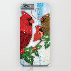 Seasons Cardinals Greetings iPhone 6s Slim Case