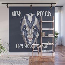 Hey Beech Wall Mural