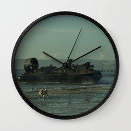 Hover Dog Wall Clock