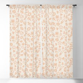 Geek Pattern Blackout Curtain