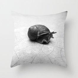 Snail Throw Pillow