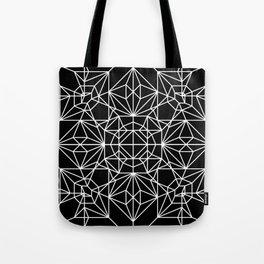 Robot Pattern Tote Bag