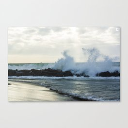 Fiumicino beach Canvas Print