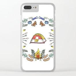 Camp Dutch Clear iPhone Case