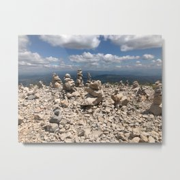 Stacked stones Metal Print
