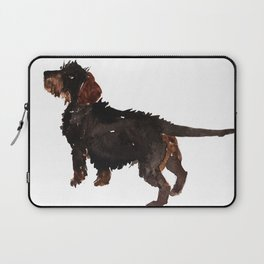 watercolor dog vol3 dachshund Laptop Sleeve