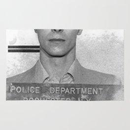 David Bowie Mugshot Rug
