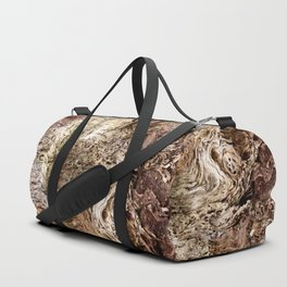 Wood Duffle Bag