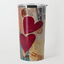 Two Hearts as One Travel Mug