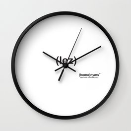 lez Wall Clock