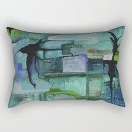 What Lies Beneath Rectangular Pillow