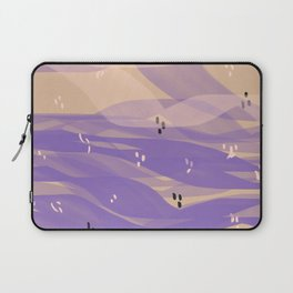 the sunset sea Laptop Sleeve