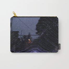 Purple lights Carry-All Pouch