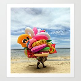 You can never have enough! Art Print