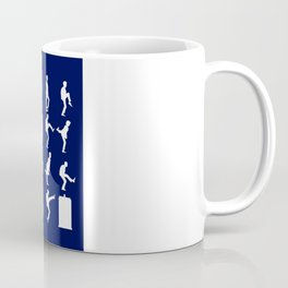 The TARDIS of Silly Walks Coffee Mug