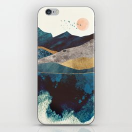 Blue Mountain Reflection iPhone Skin