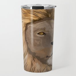 African Lion Travel Mug