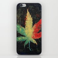 marijuana iPhone & iPod Skins featuring Marijuana by Michael Creese