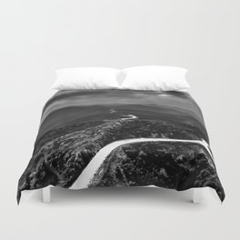 OUTTA HERE Duvet Cover