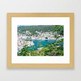 Pučišća, Croatia Framed Art Print