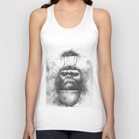 dessert Tank Tops featuring The Dessert by Chad Wehrle