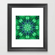 Patterns in a Kaleidoscope Framed Art Print