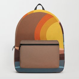 70's Sunset Backpack