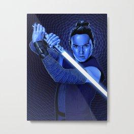 StarWars | The Last Jedi | Rey Metal Print