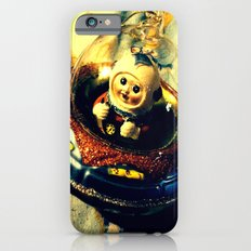 A Flying Saucer Christmas iPhone 6s Slim Case