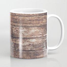 Vintage Wooden Floor Abstract Coffee Mug