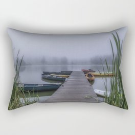 Through The Fog Rectangular Pillow